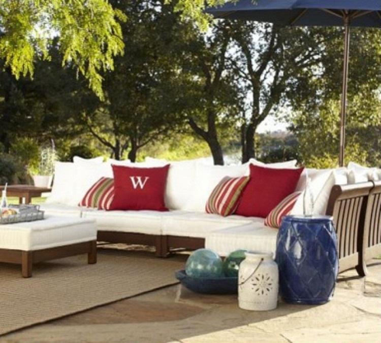 Teak Outdoor Ham Low Seating, Low Seating Furniture