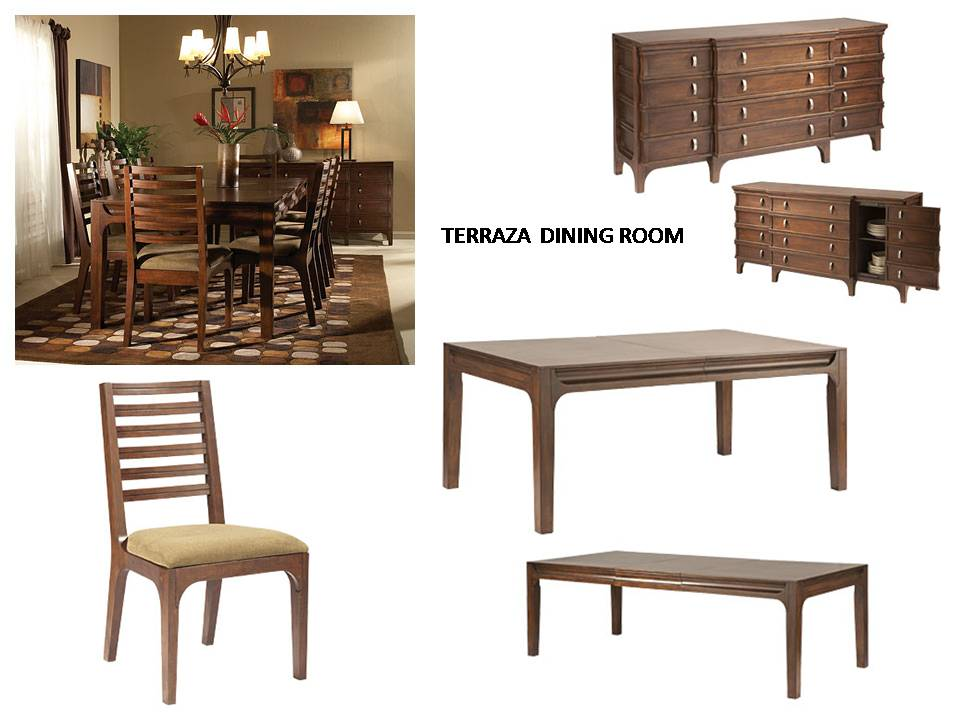 Terraza dining collection costa rican furniture for Pacific home collection