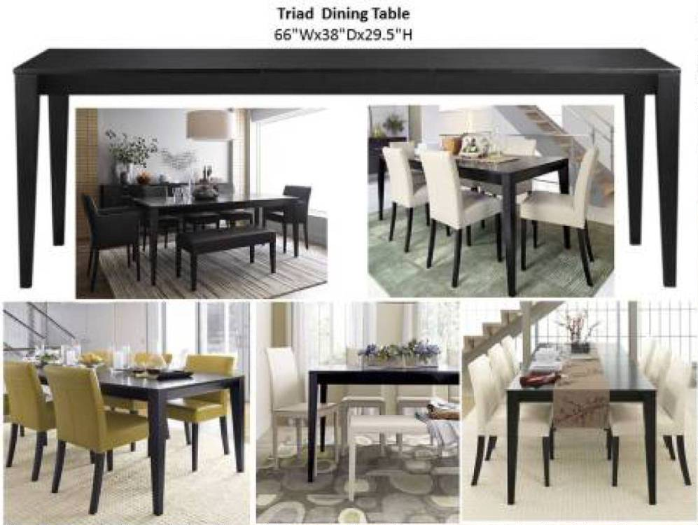 Triad dining collection costa rican furniture for Pacific home collection
