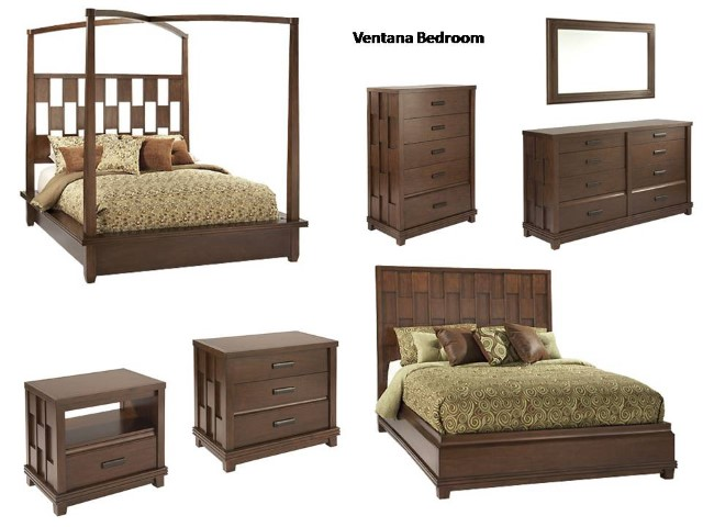 Ventana bedroom collection costa rican furniture for Pacific home collection