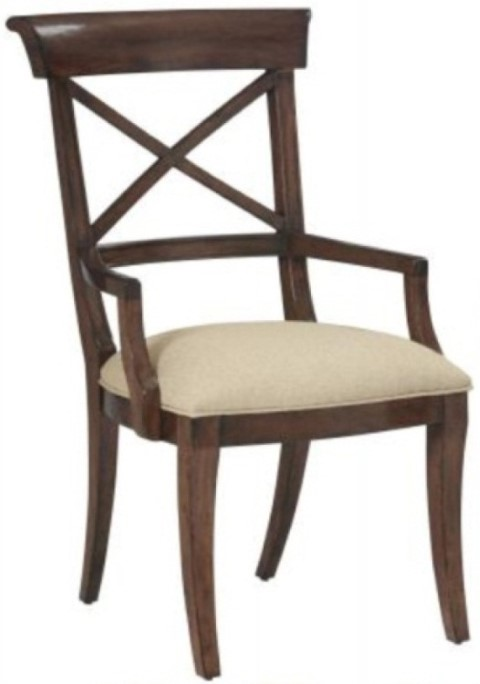 Vintage Patina Arm Chair Costa Rican Furniture