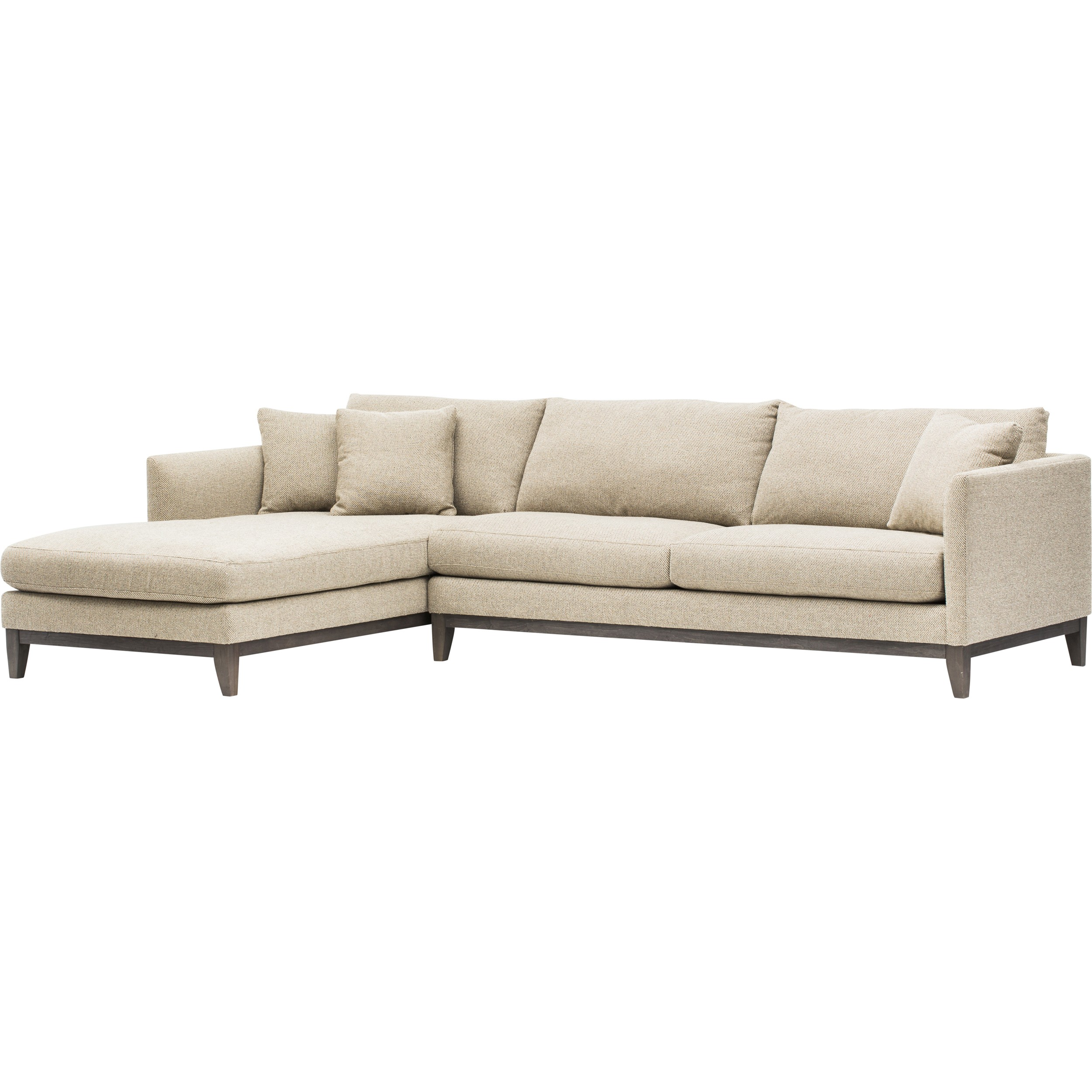 Westin sectional costa rican furniture for Albany saturn sectional sofa chaise