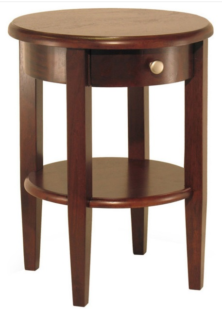 Winsome Wood Concord Round End Table Costa Rican Furniture
