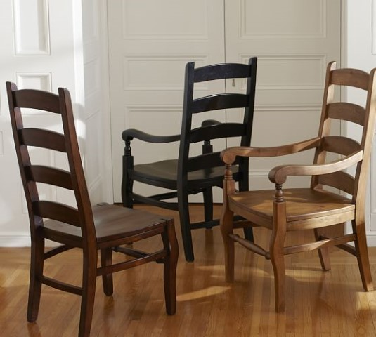Fine Wynn Ladderback Dining Chairs Costa Rican Furniture Beutiful Home Inspiration Cosmmahrainfo