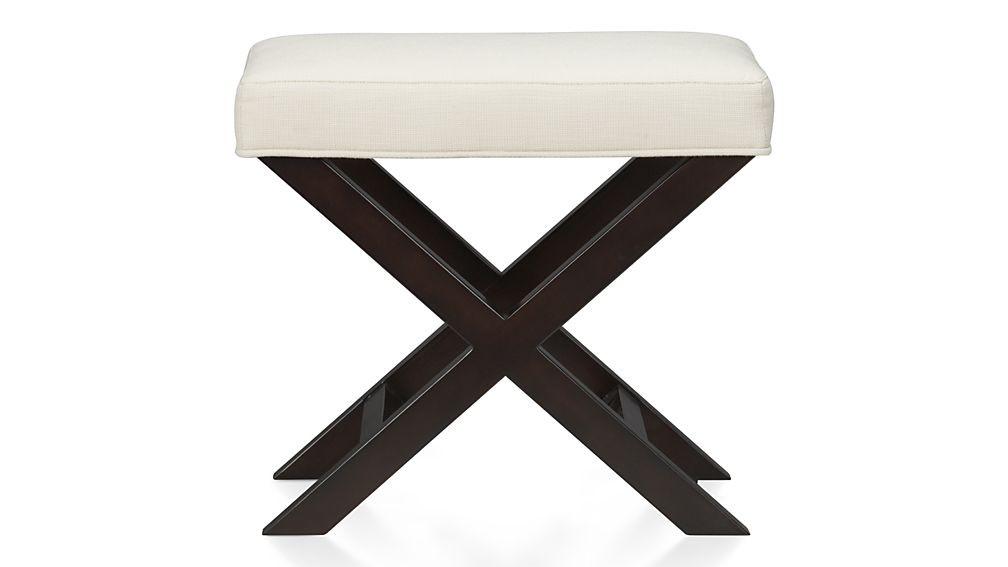 Incredible X Base Bench Vanity Stool Costa Rican Furniture Pdpeps Interior Chair Design Pdpepsorg
