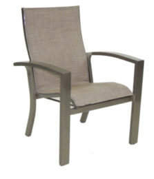 Orion Stackable Sling Dining Chair