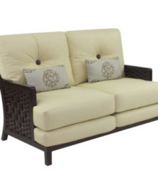 Spanish Bay Cushioned Loveseat