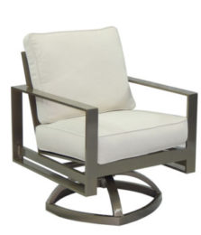 Park Place City Cushioned Swivel Rocker