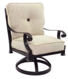 Bellagio Cushioned Swivel Rocker