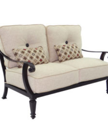 Bellagio Cushioned Loveseat