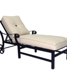 Bellagio Cushioned Chaise Lounge