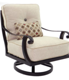Bellagio Cushioned Lounge Swivel Rocker