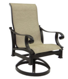 Bellagio Sling Swivel Rocker
