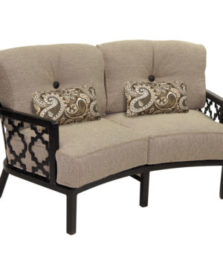 Belle Epoque Crescent Loveseat