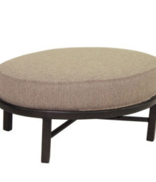 Belle Epoque Oval Lounge Ottoman