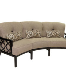 Belle Epoque Crescent Sofa