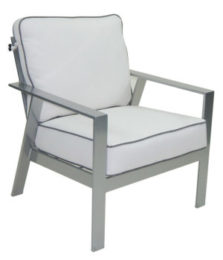 Trento Cushioned Lounge Chair