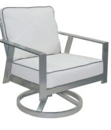 Trento Cushioned Lounge Swivel Rocker