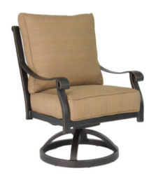 Madrid Cushioned Swivel Rocker