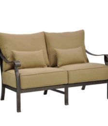 Madrid Cushioned Loveseat