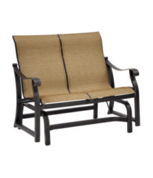 Madrid Sling Loveseat Glider