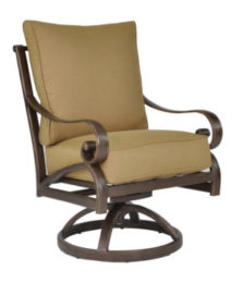 Veracruz Cushioned Swivel Rocker
