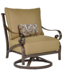Veracruz Cushioned Lounge Swivel Rocker