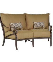 Veracruz Crescent Loveseat