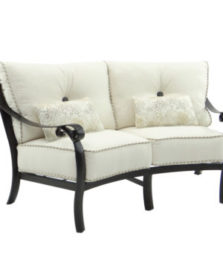 Bellanova Crescent Loveseat