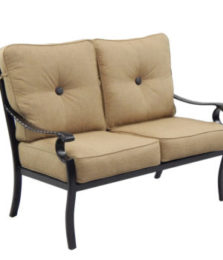 Monterey City Cushioned Loveseat