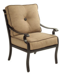 Monterey City Cushioned Chair