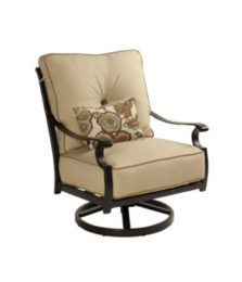 Monterey Cushioned Lounge Swivel Rocker