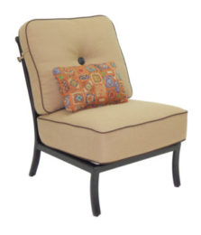 Monterey Sectional Armless Lounge Chair