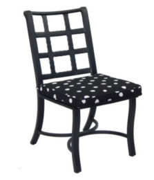 Monterey City Armless Cast Chair