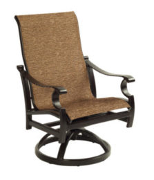 Monterey Sling Lounge Swivel Rocker