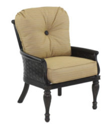 English Garden City Cushioned Chair