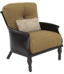 English Garden Cushioned Lounge Chair