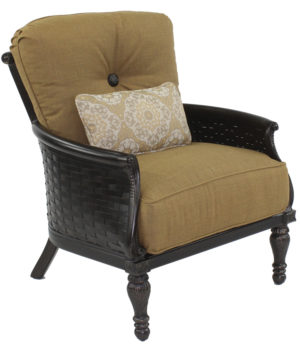 English Garden Cushioned Lounge Chair