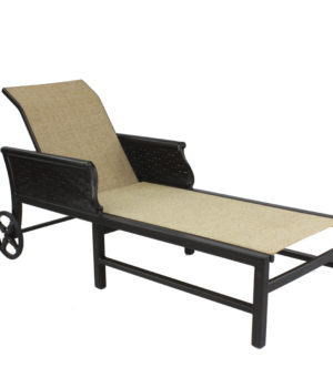 English Garden Sling Chaise Lounge