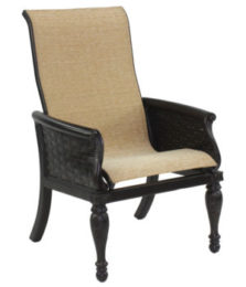 English Garden City Sling Dining Chair