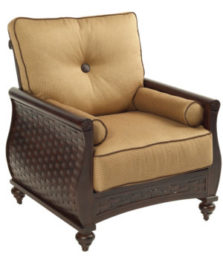 French Quarter Cushioned Lounge Chair