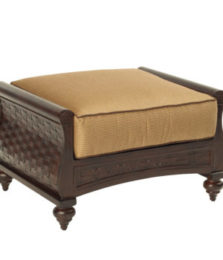 French Quarter Cushioned Ottoman