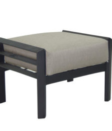 Vertice City Cushioned Ottoman