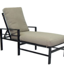 Vertice Cushioned Chaise Lounge