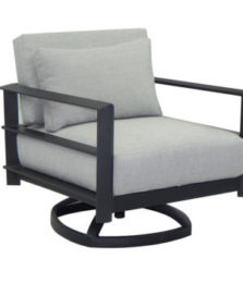 Vertice Cushioned Lounge Swivel Rocker