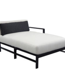 Vertice Cushioned Left End Chaise Lounge
