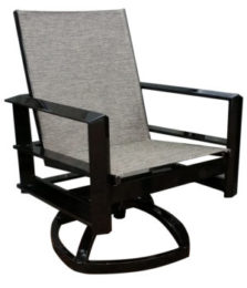 Vertice City Sling Dining Rocker