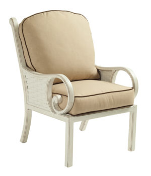 Riviera Cushioned Dining Chair