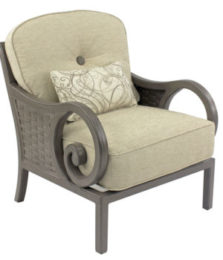 Riviera Cushioned Lounge Chair