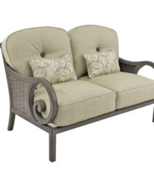 Riviera Cushioned Loveseat